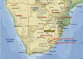 Horn Of Africa Map by South Africa Spiral Horn Slam Hunting Safari