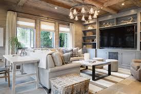 plaid living room furniture desk behind sofa cottage living room kelly nutt design