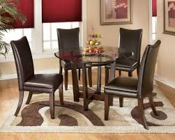 nice dining room design with soft brown color dining room