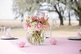 baby shower centerpieces girl it s a girl pink baby shower baby shower ideas