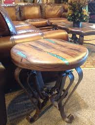 epoxy filled wood slab table woodworking pinterest wood end table with turquoise resin inlaid in to beautiful mesquite wood southwest