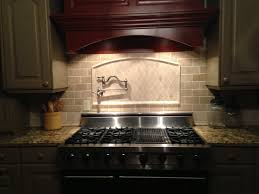 travertine tile backsplash kitchen backsplash pinterest
