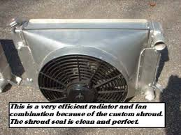 electric radiator fans and shrouds mahaffey motorsports custom fabricated fan shrouds