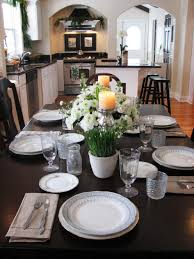 table kitchen table decor ideas dining table decor for an