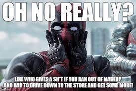 Deadpool Memes - shocked deadpool memes imgflip