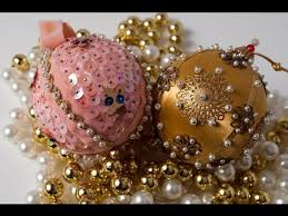 Making Christmas Ornaments - how to make christmas ornaments youtube