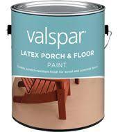 valspar latex porch u0026 floor paint non glare low sheen paint