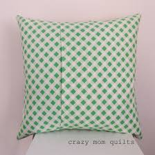 how to make an envelope backed pillow crazy mom envelopes and