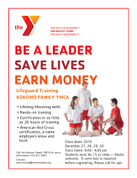 lifeguarding kokomo family ymca