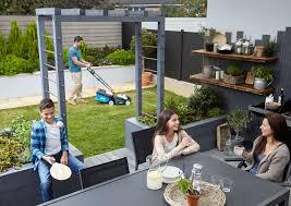 Parpaing Plein Castorama by Jardin Un Salon De Jardin Familial Castorama
