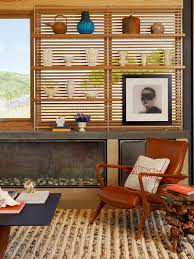 modern fireplace caterpillar house in carmel california by