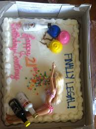 drunk barbie cake for soon to be sister in laws 21st bday let u0027s
