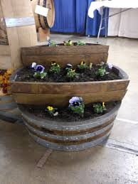 garden design garden design with diy wine barrel planter the
