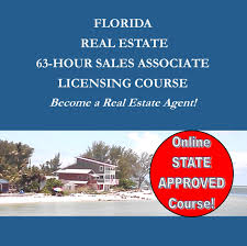 florida real estate 63 hour pre license sales associate course