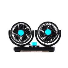 dc 24v 7w portable car vehicle truck cooling air fan adjustable