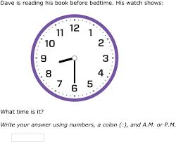 ixl a m or p m 2nd grade math practice