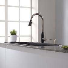 Pull Down Faucet Kitchen by Granite Kitchen Sink Combinations Kraususa Com