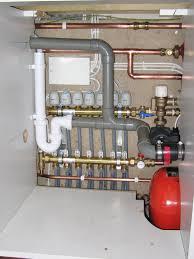 underfloor heating installation exle 1 pipework connect