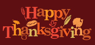 to all of our community we d like to say happy thanksgiving rule