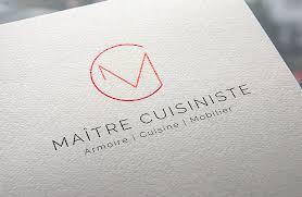 maitre de la cuisine maître cuisiniste logo boumgrafik branding image