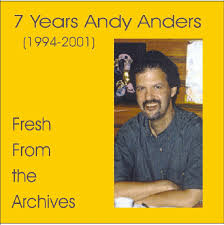 7 Years Andy Anders - Fresh From the Archives - cdcover7yearsandyanders
