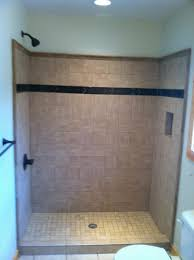 Bathroom Tub Ideas Bathroom Awesome Installing Fiberglass Tub Shower Unit 74 Tile