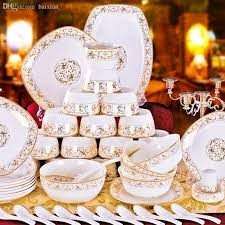 wholesale quality bone china dinnerware set wedding gifts sun