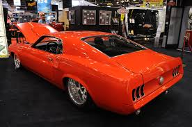 1969 mustang orange 02 bs 1969 ford mustang mustangs daily