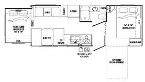 Outback Floor Plans 2008 Keystone Outback 23krs Travel Trailer Owatonna Mn Noble Rv