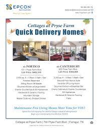 L Shaped Bathroom Suite Models Cottages At Pryse Farm Epcon Communities