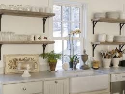 kitchen good looking white modern kitchen floating shelves