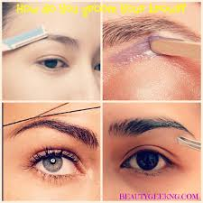 How To Trim Eyebrows Which Is The Best Method For Grooming Eyebrows