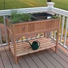 raised garden planter gardening ideas