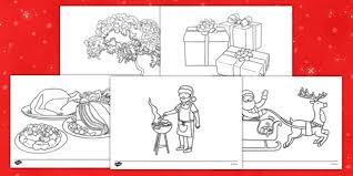 christmas colouring sheets nz zealand christmas