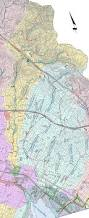 Oakland Map Sausal Creek Watershed Map