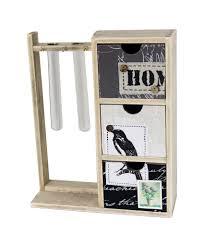 original wooden test tube rack pocket handkerchief palcement
