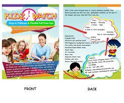 brochure design for kidz watch by mylance24 design 3435834