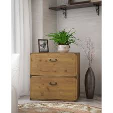 Lateral Filing Cabinet 2 Drawer Kathy Ireland Golden Pine 2 Drawer Lateral File Ironworks Rc