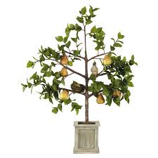 partridge in a pear tree ornament oka