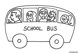 coloriage dessin bus enfant 19 dessin