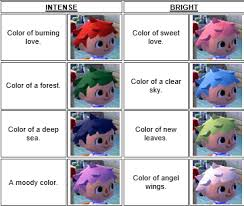 all acnl hairstyles with colours 10 acnl tips that have helped me the most