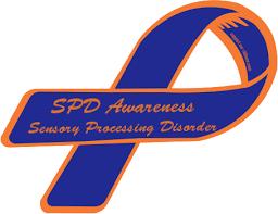 custom awareness ribbons custom ribbon spd awareness sensory processing disorder