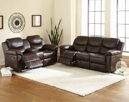 Microfiber Reclining Sofa Bonded Leather Reclining Sofa Ffo Home