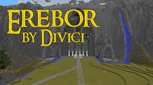 Lotr Map Minecraft Lord Of The Rings Map Erebor By Divici Youtube