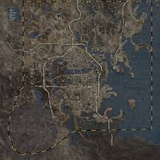 Mount And Blade Map Satellite Color World Map Combo At Fallout 4 Nexus Mods And