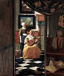 Painting Of Chandelier Master Of Light A Close Look At The Paintings Of Johannes Vermeer