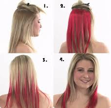 Frisuren Zum Selber Machen F D Ne Haar by Ombre Hair Anleitung Mit Clip In Extensions Hair Ideas