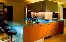 glass kitchen island get transparent with think glass kitchen countertops 3rings