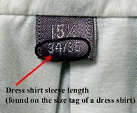 size chart men u0027s wear mybarong
