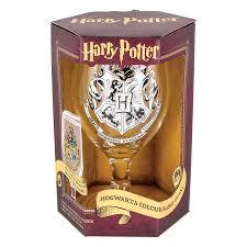 harry potter hogwarts colour change glass paladone shop